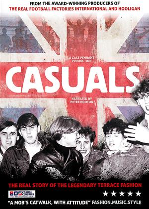 Rent Casuals: The Story of the Legendary Terrace Fashion Online DVD Rental