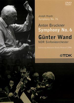"Rent ""Gunter Wand"": Bruckner: Symphony No.6 / Haydn: Symphony No.76 Online DVD Rental"
