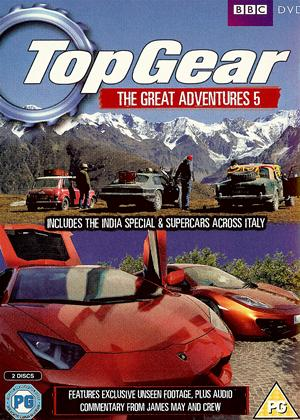 Top Gear: The Great Adventures: Vol.5 Online DVD Rental