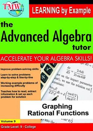 The Advanced Algebra Tutor: Graphing Rational Functions Online DVD Rental