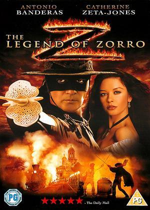 Rent The Legend of Zorro Online DVD Rental