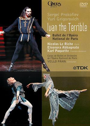 Ivan the Terrible: Prokofiev and Grigorovich Online DVD Rental