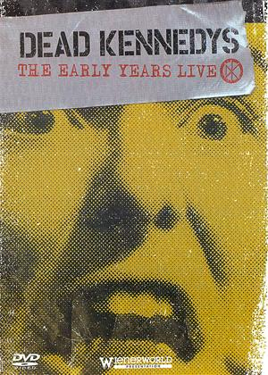 Dead Kennedys: The Early Years Live Online DVD Rental