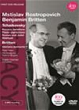 Rent Mstislav Rostropovich/Benjamin Britten: Tchaikovsky/Britten Online DVD Rental