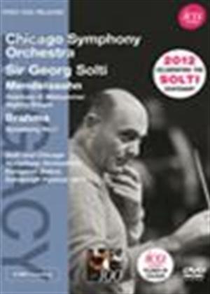 Rent Sir Georg Solti: Mendelssohn/Brahms Online DVD Rental