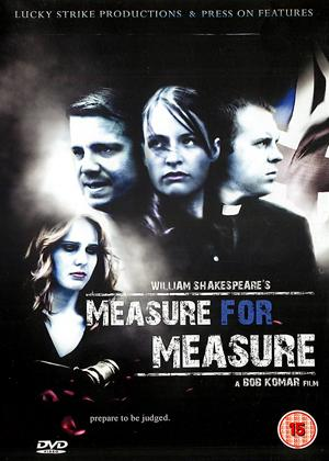 Measure for Measure Online DVD Rental