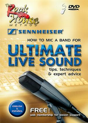 How To Mic A Band For Ultimate Live Sound Online DVD Rental