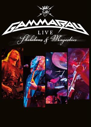 Gamma Ray: Skeletons and Majesties Live Online DVD Rental