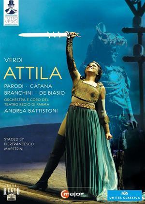 Rent Attila: Teatro Regio di Parma (Battistoni) Online DVD Rental