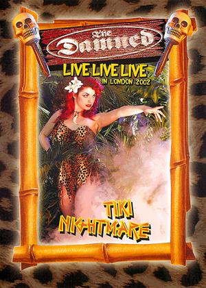 The Damned: Live Live Live - Tiki Nightmare Online DVD Rental