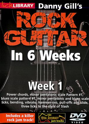 Rock Guitar in 6 Weeks with Danny Gill: Week 1 Online DVD Rental