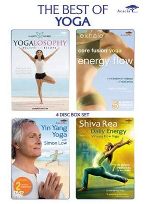 The Best of Yoga Online DVD Rental