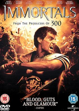 Immortals Online DVD Rental