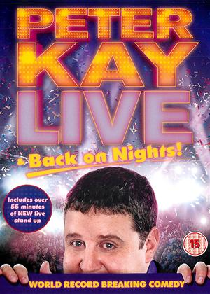 Peter Kay: Live and Back on Nights Online DVD Rental