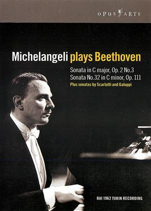 Michelangeli: Plays Beethoven Online DVD Rental
