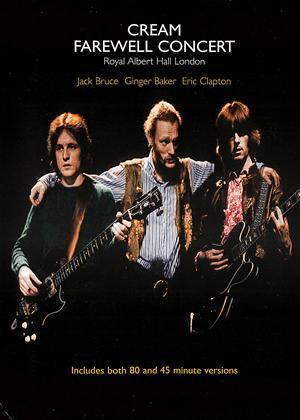 Cream: Farewell Concert Online DVD Rental