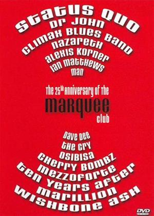 The 25th Anniversary of the Marquee Club Online DVD Rental