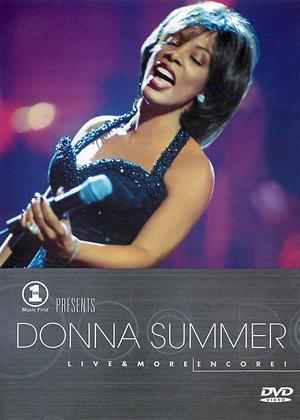 Donna Summer: VH1 Presents Live and More Encore Online DVD Rental