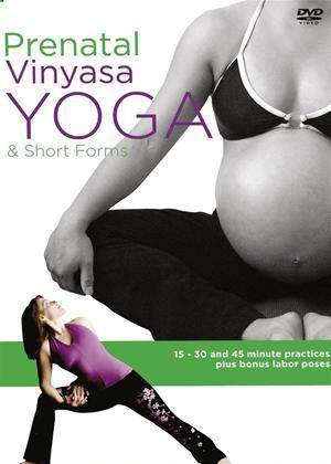Rent Prenatal Vinyasa Yoga and Short Forms Online DVD Rental