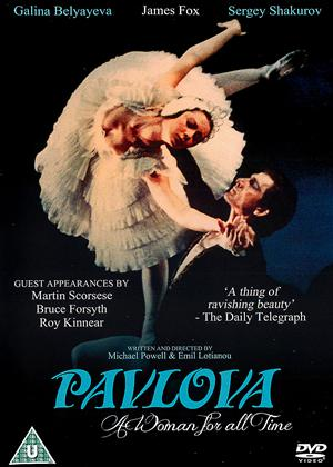 Pavlova: A Woman for All Time Online DVD Rental