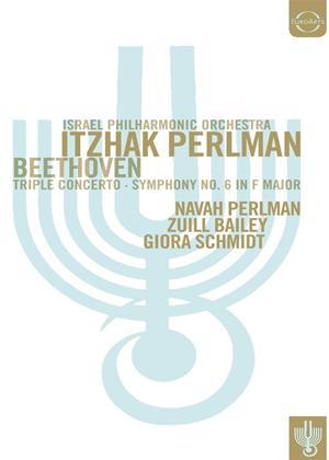 Rent Beethoven: Triple Concerto/Symphony No.6 (Perlman) Online DVD Rental
