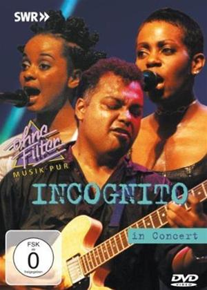 Rent Incognito: Live in Concert Online DVD Rental
