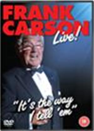 Rent Frank Carson: It's the Way I Tell 'Em: Live! Online DVD Rental