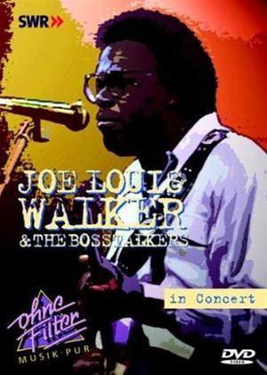 Joe Louis Walker and the Bosstalkers: Live in Concert Online DVD Rental
