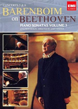 Rent Daniel Barenboim: Beethoven Piano Sonatas: Vol.3 Online DVD Rental