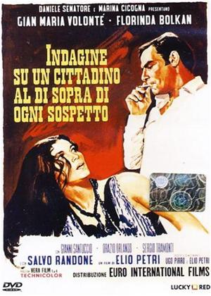 Rent Investigation of a Citizen Above Suspicion (aka Indagine su un cittadino al di sopra di ogni sospetto) Online DVD Rental