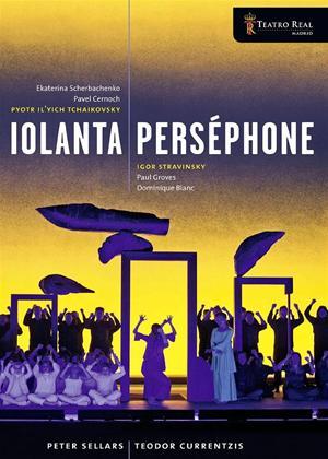 Iolanta / Persephone: Teatro Real Online DVD Rental