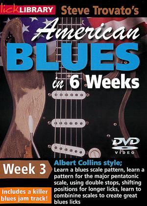 Rent American Blues Guitar in 6 Weeks: Week 3 - Albert Collins Online DVD Rental