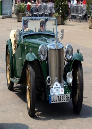 Rent Classic Cars: MG Online DVD Rental