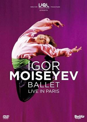 Rent Igor Moiseyev Ballet: Live in Paris Online DVD Rental