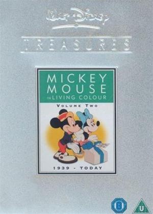 Rent Walt Disney Treasures: Mickey in Living Colour: 1939 to Today Online DVD Rental