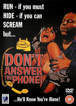 Don't Answer the Phone Online DVD Rental