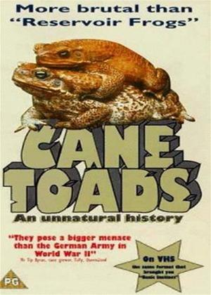 Cane Toads: An Unnatural History Online DVD Rental