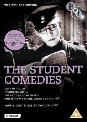 Rent Yasujiro Ozu: The Student Comedies (aka Wakaki Hi / Rakudai Wa Shita Keredo / Shukujo To Hige / Seishun No Yume Ima Izuko) Online DVD Rental