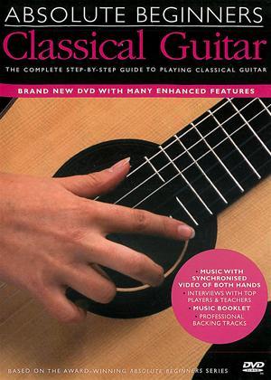 Rent Absolute Beginners: Classical Guitar Online DVD Rental