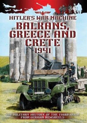 Rent Balkans, Greece and Crete: 1941 Online DVD Rental