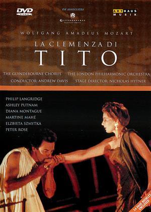 Mozart: La Clemenza Di Tito: Glyndebourne Online DVD Rental