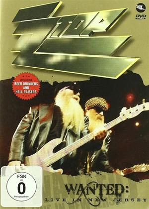 Rent ZZ Top: Wanted: Live in New Jersey Online DVD Rental