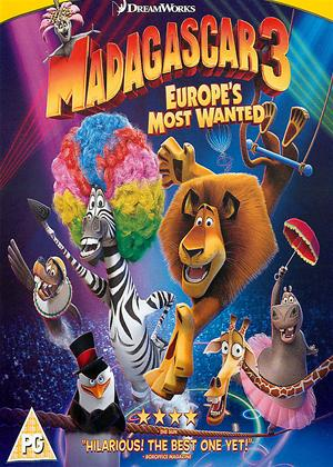 Madagascar 3: Europe's Most Wanted Online DVD Rental