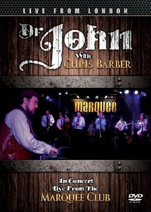 Rent Doctor John with Chris Barber: Live from the Marquee Club Online DVD Rental
