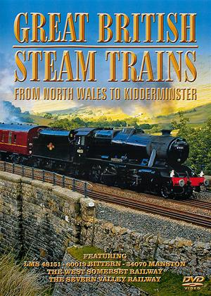 Great British Steam Trains: From North Wales to Kidderminster Online DVD Rental