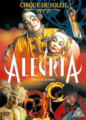 Cirque du Soleil: Alegria Online DVD Rental