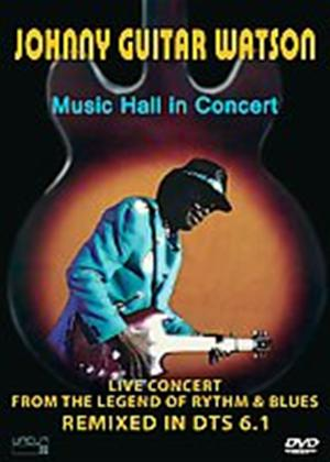 Johnny Guitar Watson: Music Hall in Concert Online DVD Rental