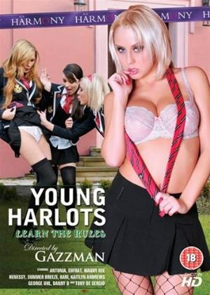 Rent Young Harlots: Learn the Rules Online DVD Rental