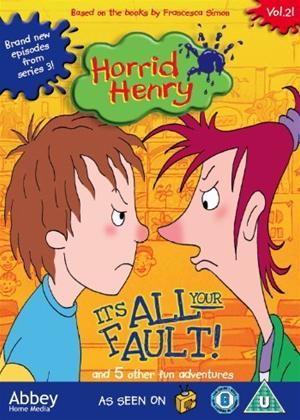 Rent Horrid Henry: Its All Your Fault Online DVD Rental
