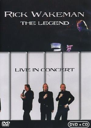 Rent Rick Wakeman: The Legend Live in Concert Online DVD Rental